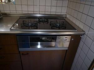 ダッチオーブン対応グリルのガスコンロ