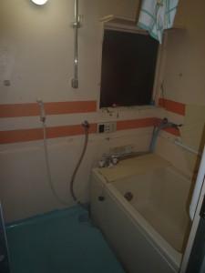 浴室ビフォー