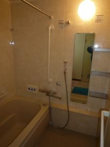 介護保険で浴室リフォーム