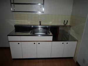 築30年の賃貸マンションのキッチンリフォーム