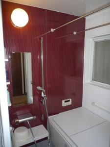 在来浴室からシステムバスへ