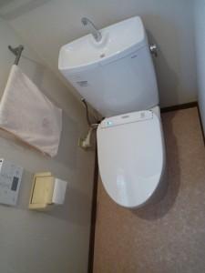 トイレの床板補強