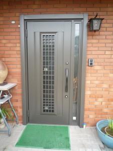 玄関ドア取替え リシェント