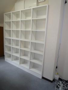 大容量の本棚