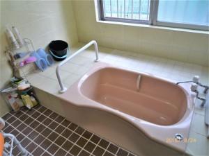 浴室のイージーオーダー手すり