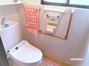 玄関・トイレ手すり取付