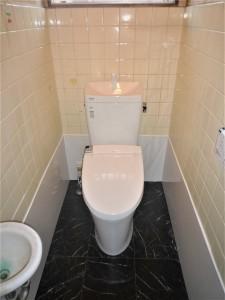 和式トイレを洋式に