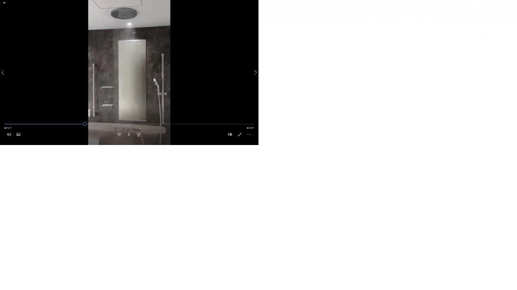 ④オーバーヘッドシャワー静止画