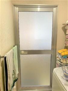 浴室ドア取替え
